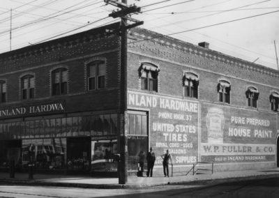 Inland Hardware Company at 1802 E. Sprague, 1927