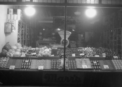 Produce and Product Display at Marrs Grocery Store,1927
